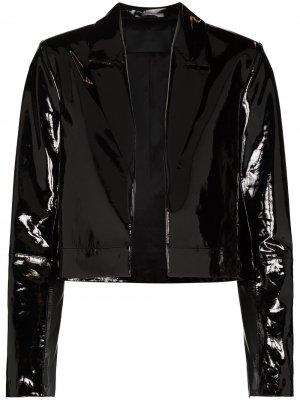 Укороченная куртка RtA. Цвет: черный