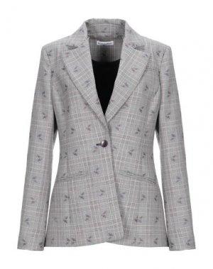 Пиджак ALTUZARRA. Цвет: серый