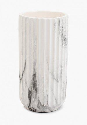 Ваза Mandarin Decor Серый мрамор. Цвет: серый
