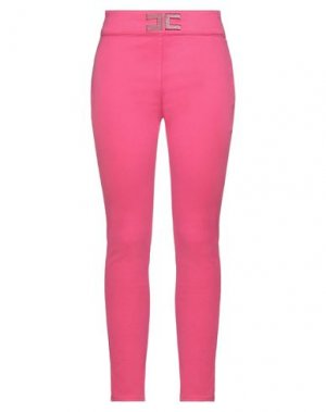 Джинсовые брюки ELISABETTA FRANCHI. Цвет: фуксия