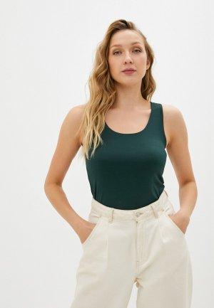 Майка Sela Exclusive online. Цвет: зеленый