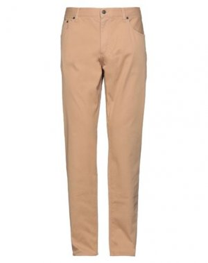 Повседневные брюки RED FLEECE by BROOKS BROTHERS. Цвет: песочный