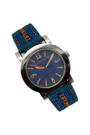 Watch ADOLFO DOMINGUEZ. Цвет: silver, blue