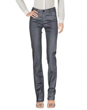Повседневные брюки 75 FAUBOURG. Цвет: серый