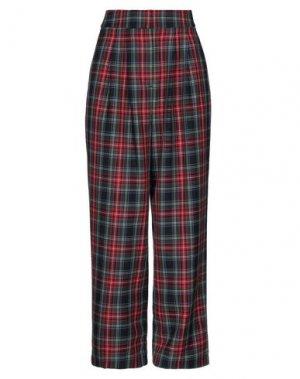 Повседневные брюки JUST FEMALE. Цвет: красный