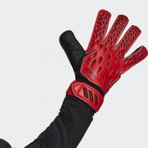 Вратарские перчатки для тренировок Predator Performance adidas. Цвет: красный