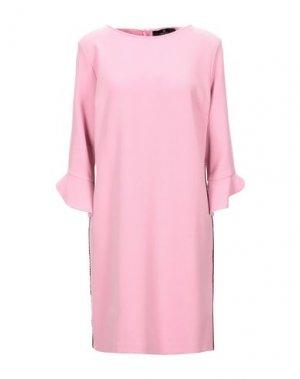 Короткое платье COMPAGNIA ITALIANA. Цвет: розовый
