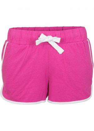 Пляжные шорты bonprix. Цвет: ярко-розовый
