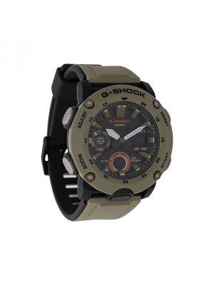 Наручные часы Carbon Core Guard G-Shock. Цвет: зеленый