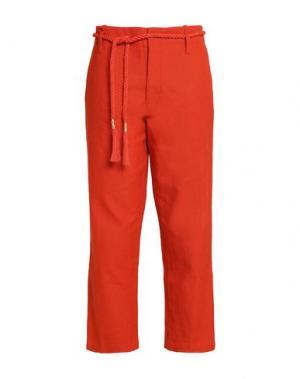 Повседневные брюки ANTIK BATIK. Цвет: красный