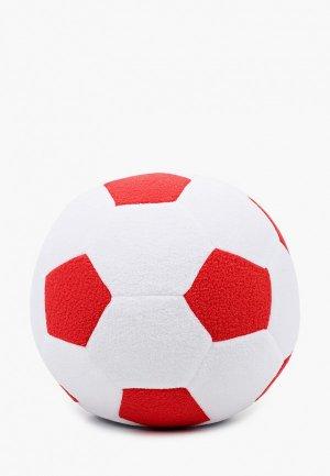 Игрушка мягкая Magic Bear Toys Мяч мягкий, 23 см.. Цвет: белый
