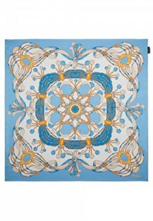 Платок LUISA SPAGNOLI. Цвет: голубой