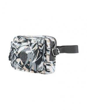 Рюкзаки и сумки на пояс KIPLING. Цвет: серый