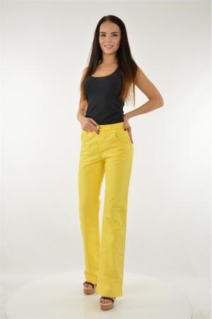 Джинсы Versace JEANS. Цвет: желтый