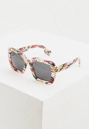 Очки солнцезащитные Burberry BE4284 379287. Цвет: разноцветный