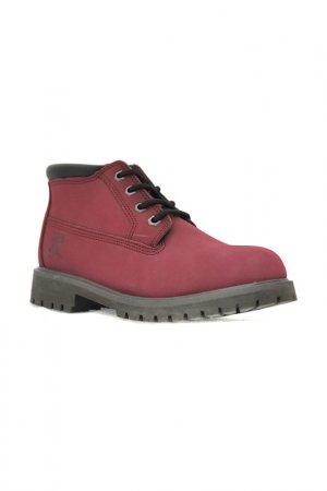 Ботинки Front by Ascot. Цвет: бордовый