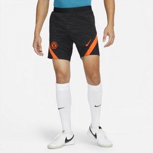 Мужские трикотажные футбольные шорты Dri-FIT Chelsea FC Strike - Черный Nike