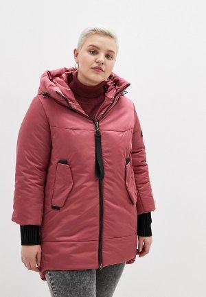 Куртка утепленная Grafinia. Цвет: розовый