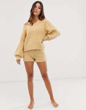 Пляжные шорты с завышенной талией -Желтый Zulu & Zephyr