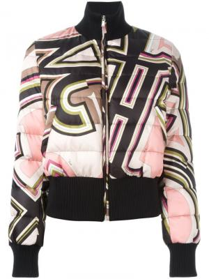 Куртка-бомбер с принтом Emilio Pucci. Цвет: многоцветный