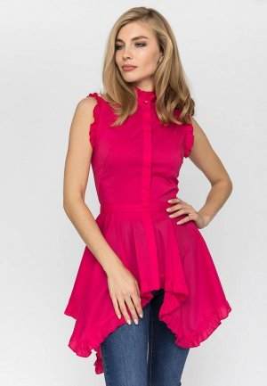 Туника Gloss. Цвет: розовый