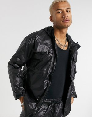 Черная нейлоновая куртка в стиле милитари -Черный Criminal Damage