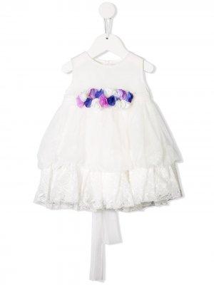 Платье с цветочным декором Aletta