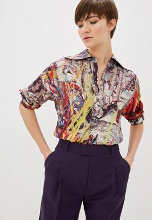 Блуза Vivienne Westwood. Цвет: разноцветный