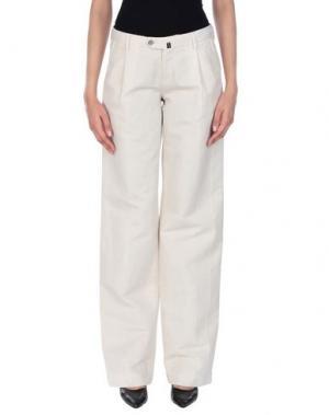 Повседневные брюки PT Torino. Цвет: бежевый