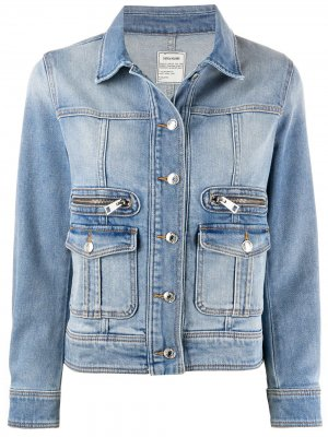 Джинсовая куртка Liamy Zadig&Voltaire. Цвет: синий
