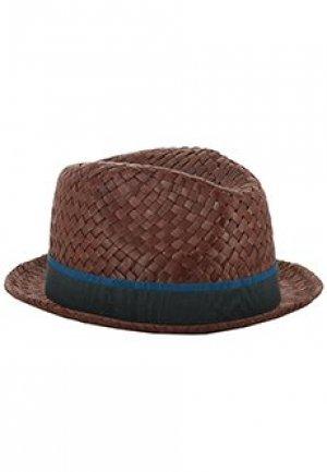 Шляпа PAUL SMITH. Цвет: коричневый