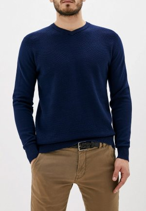 Пуловер F5. Цвет: синий
