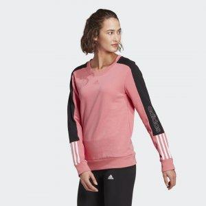 Джемпер Essentials Logo adidas. Цвет: белый