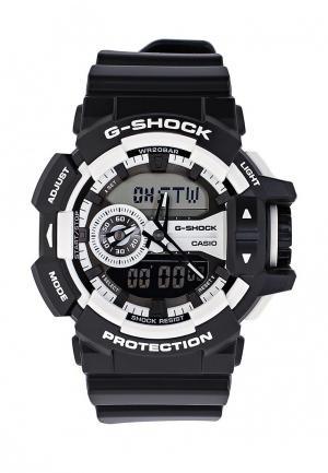 Часы Casio G-SHOCK GA-400-1A. Цвет: черный