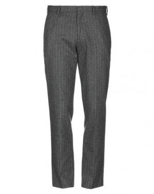 Повседневные брюки J.CREW. Цвет: свинцово-серый