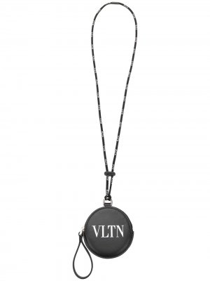 Кошелек для монет VLTN Valentino Garavani. Цвет: черный