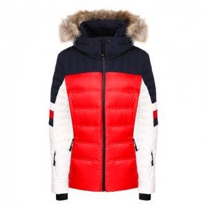 Куртка Rossignol Tommy Hilfiger. Цвет: разноцветный