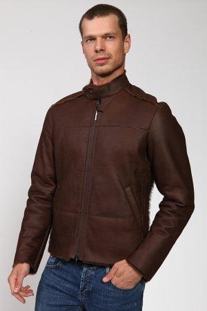 Дубленка Costume National. Цвет: коричневый