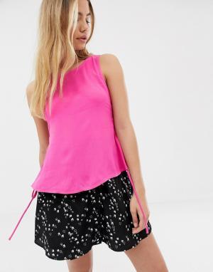 Майка -Розовый Glamorous
