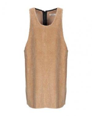 Короткое платье HAIKURE. Цвет: песочный