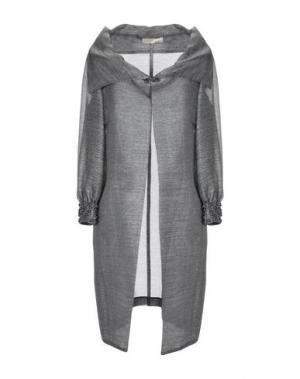 Легкое пальто AMONREE. Цвет: серый