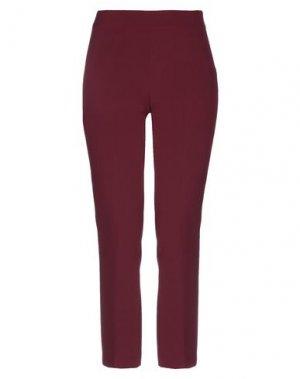 Повседневные брюки COMPAGNIA ITALIANA. Цвет: красно-коричневый