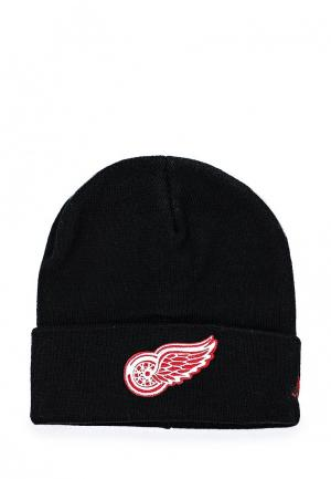 Шапка Atributika & Club™ NHL Detroit Red Wings. Цвет: черный