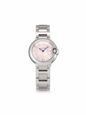 Наручные часы Ballon Bleu 32 мм 2015-го года Cartier. Цвет: розовый