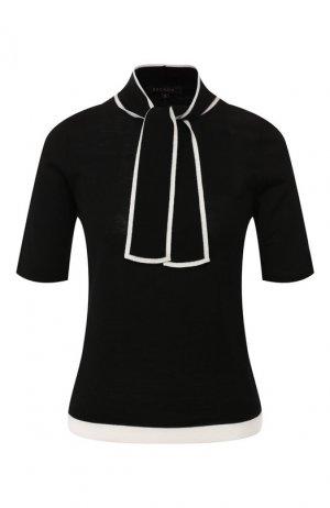 Шерстяной пуловер Escada. Цвет: черный
