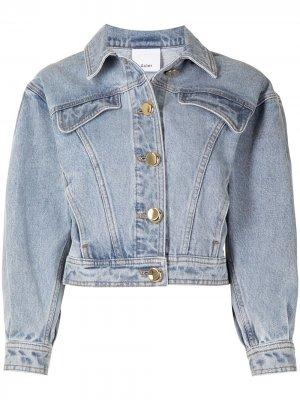 Джинсовая куртка Florence Acler. Цвет: синий