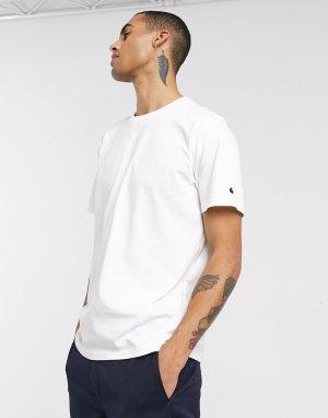 Белая футболка -Белый Carhartt WIP