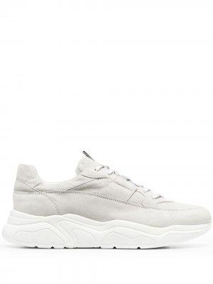 Doucals высокие кроссовки с перфорацией Doucal's. Цвет: серый