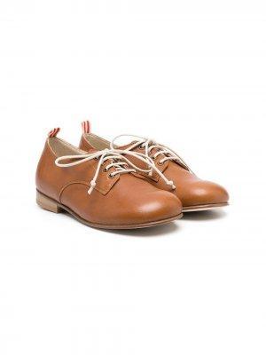 Туфли Marco на шнуровке Pèpè. Цвет: коричневый