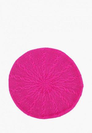 Берет United Colors of Benetton. Цвет: розовый